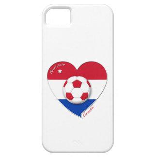 """Funda Para iPhone SE/5/5s Football """"CROATIA"""" Soccer Team Fútbol Croacia 2014"""