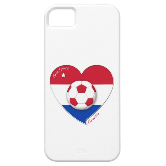 "Funda Para iPhone SE/5/5s Football ""CROATIA"" Soccer Team Fútbol Croacia 2014"