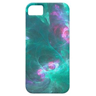 Funda Para iPhone SE/5/5s Fractal abstracto en una paleta fría