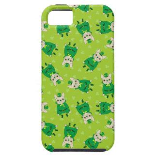 Funda Para iPhone SE/5/5s Frenchie lindo afortunado el el día de St Patrick