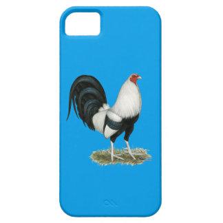 Funda Para iPhone SE/5/5s Gallo de pelea de plata de Duckwing