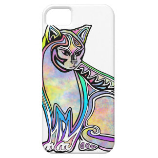 Funda Para iPhone SE/5/5s Gato de la acuarela
