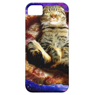 Funda Para iPhone SE/5/5s gato de la pizza - gato loco - gatos en espacio