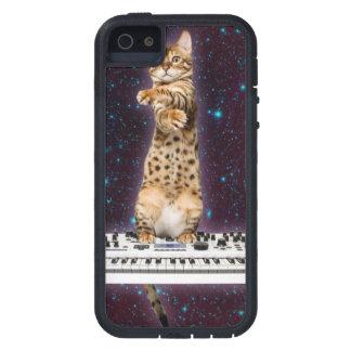 Funda Para iPhone SE/5/5s gato del teclado - gatos divertidos - amantes del