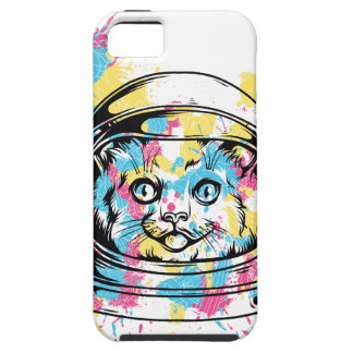 Funda Para iPhone SE/5/5s gato el astronuat