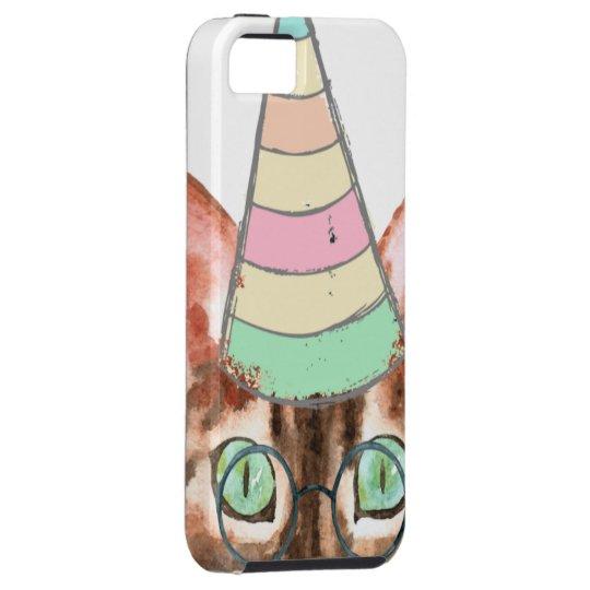 Funda Para iPhone SE/5/5s Gato obsesión
