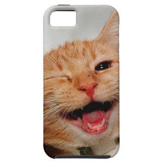 Funda Para iPhone SE/5/5s Gato que guiña - gato anaranjado - los gatos