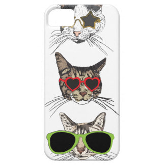 Funda Para iPhone SE/5/5s Gatos que llevan las gafas de sol