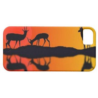 Funda Para iPhone SE/5/5s Gazelles de consumición en el caso de Iphone de la