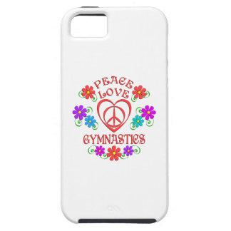 Funda Para iPhone SE/5/5s Gimnasia del amor de la paz