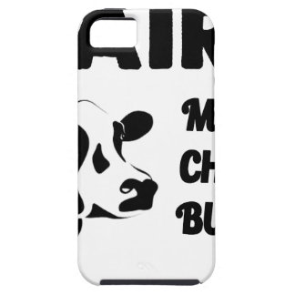 Funda Para iPhone SE/5/5s Granja lechera fresca, mantequilla del queso de la