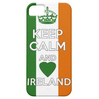 Funda Para iPhone SE/5/5s Guarde la calma y ame Irlanda