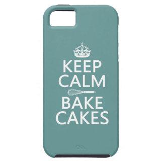 Funda Para iPhone SE/5/5s Guarde la calma y cueza las tortas