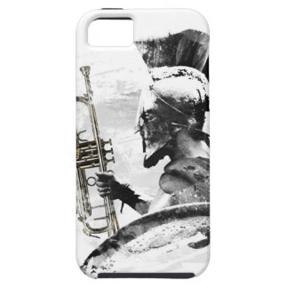 Funda Para iPhone SE/5/5s Guerrero de la trompeta