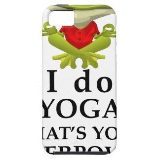 Funda Para iPhone SE/5/5s hago yoga qué s su superpoder