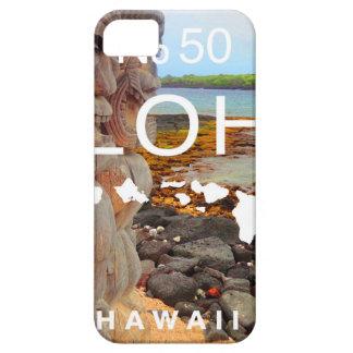 Funda Para iPhone SE/5/5s Hawaiana ningunos 50 Tiki