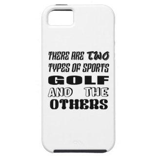 Funda Para iPhone SE/5/5s Hay dos tipos de deportes Golf y otros