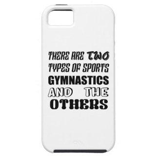 Funda Para iPhone SE/5/5s Hay dos tipos de gimnasia y de otra de los