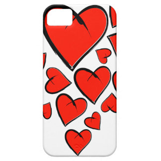 Funda Para iPhone SE/5/5s Heartinella - corazones del vuelo