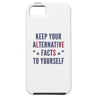 Funda Para iPhone SE/5/5s Hechos alternativos