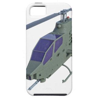 Funda Para iPhone SE/5/5s Helicóptero de Apache en vista delantera