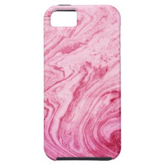 Funda Para iPhone SE/5/5s hermoso elegante del modelo de mármol rosado de la