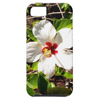 Funda Para iPhone SE/5/5s Hibisco blanco