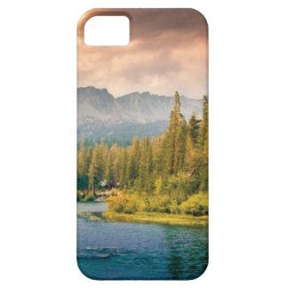 Funda Para iPhone SE/5/5s hilera de árboles en el desierto