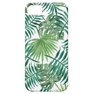 Funda Para iPhone SE/5/5s Hoja de palma botánica tropical de la planta