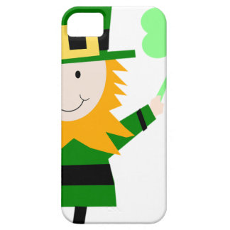 Funda Para iPhone SE/5/5s Hombre afortunado del trébol del Leprechaun
