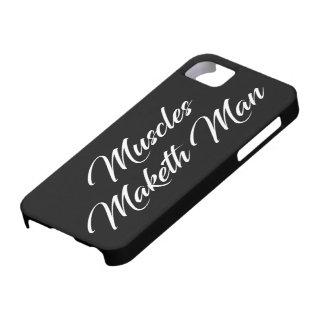 Funda Para iPhone SE/5/5s Hombre de Maketh de los músculos - entrenamiento