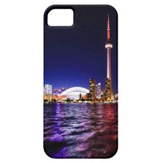 Funda Para iPhone SE/5/5s Horizonte de la noche de Toronto