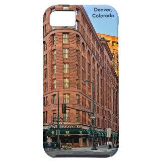 Funda Para iPhone SE/5/5s Hotel majestuoso en la puesta del sol, Denver, CO