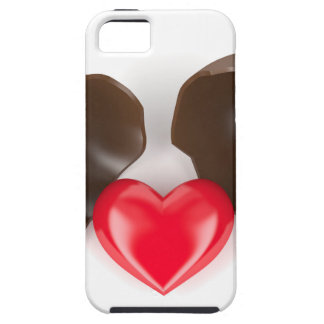 Funda Para iPhone SE/5/5s Huevo y corazón de chocolate
