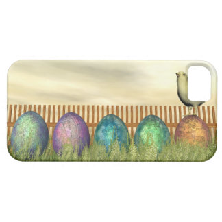 Funda Para iPhone SE/5/5s Huevos coloridos para pascua - 3D rinden