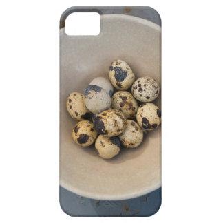 Funda Para iPhone SE/5/5s Huevos de codornices en un cuenco