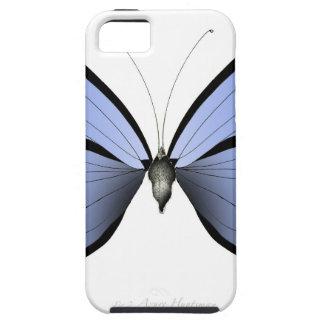 Funda Para iPhone SE/5/5s Huntsman azul del azul de la mariposa 2