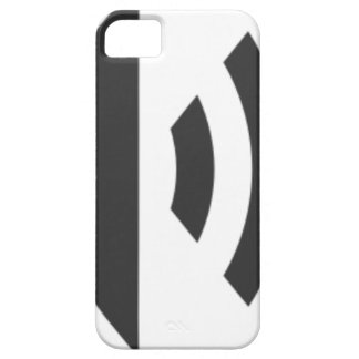 Funda Para iPhone SE/5/5s Icono del altavoz