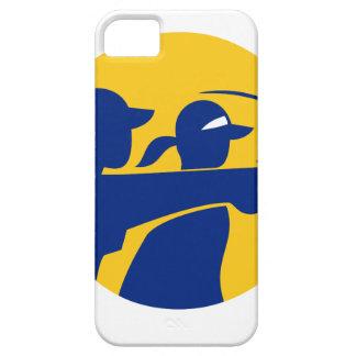 Funda Para iPhone SE/5/5s Icono del caddie y del golfista