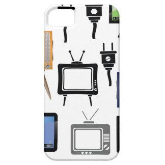 Funda Para iPhone SE/5/5s iconos de la TV