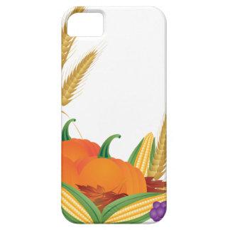 Funda Para iPhone SE/5/5s Ilustracion de la cosecha de la caída