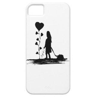 Funda Para iPhone SE/5/5s Ilustracion del concepto del amor de la siembra