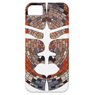 Funda Para iPhone SE/5/5s Imitación del extracto de la máscara africana