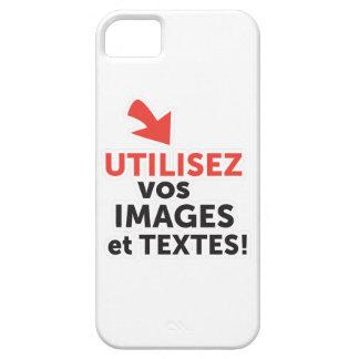 Funda Para iPhone SE/5/5s Imprimir sus diseños en línea DIY en Francés