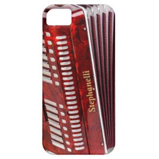 FUNDA PARA iPhone SE/5/5s INSTRUMENTO MUSICAL DE ACCORDIAN