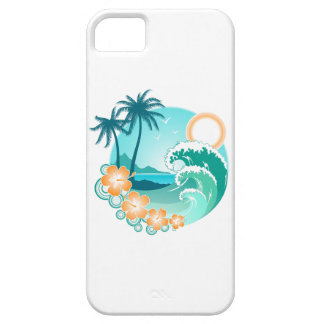 Funda Para iPhone SE/5/5s Isla hawaiana 1