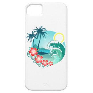 Funda Para iPhone SE/5/5s Isla hawaiana 2