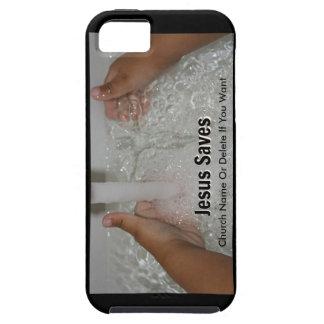 Funda Para iPhone SE/5/5s Jesús en agua con dos pulgares sube la promoción