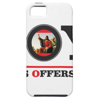 Funda Para iPhone SE/5/5s Jesús le ofrece la etiqueta de la alegría