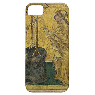 Funda Para iPhone SE/5/5s Jesús y la mujer del samaritano en el pozo